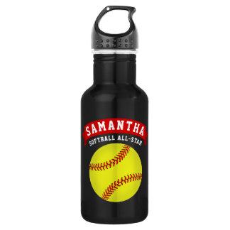 Softball All-Star- Edelstahlflasche