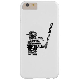 Softball-Fan-Softball-Mamma-Jugend-Kind Barely There iPhone 6 Plus Hülle
