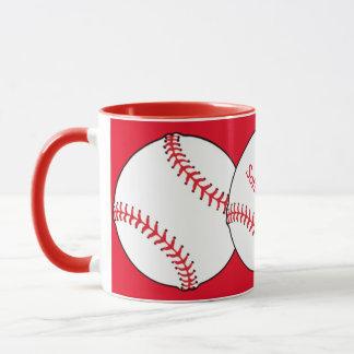 Softball-Mamma-Wecker-Tasse Tasse