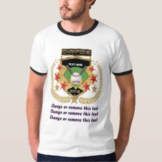Softball-Meister nur für Vorder T-Shirt