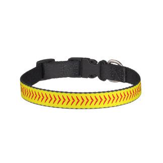 Softball näht Hundehalsband Haustierhalsband