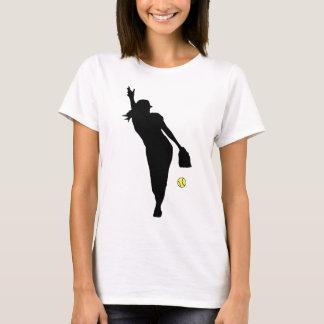 Softball Neigung T-Shirt