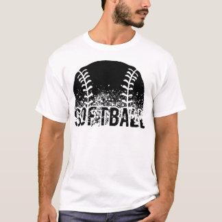 Softball-Schmutz T-Shirt