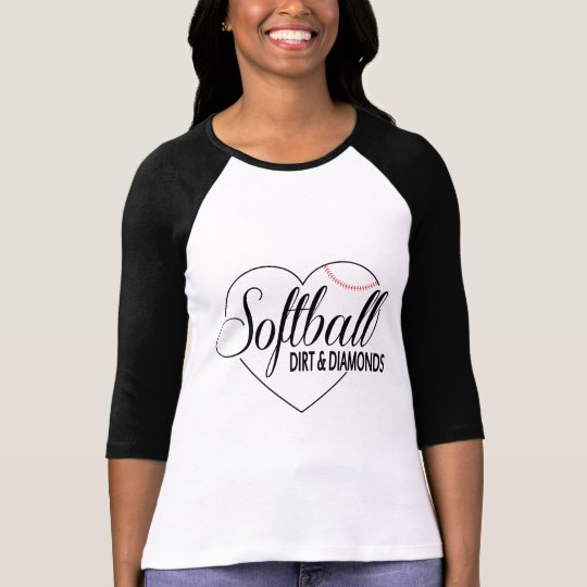 "Softball Shirt ""Dirt&Diamonds"""