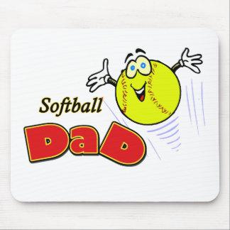 Softball-Vati Mousepads