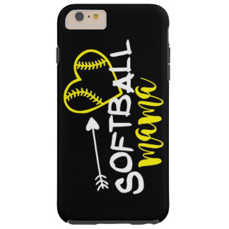 Softballmutter-Telefonkasten Tough iPhone 6 Plus Hülle