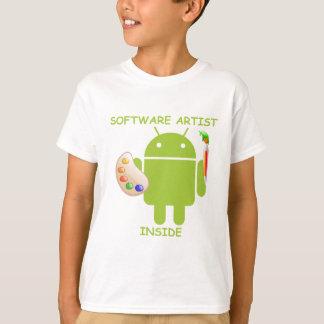 Software-Künstler-Innere (Bugdroid T-Shirt