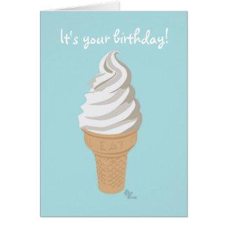 Softy-Kegel-Geburtstags-Karte Karte
