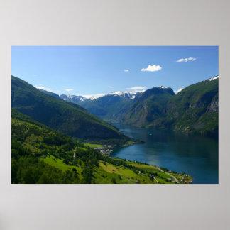 Sognefjord Plakat