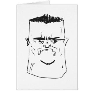 Sohn bin ich enttäusche Vater-Raserei-Comic Meme Karten