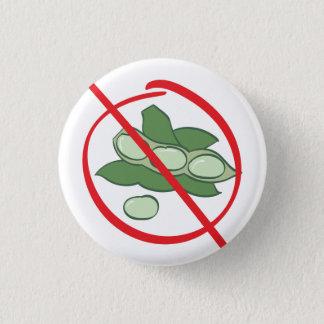 Sojabohnenöl-Allergie Runder Button 3,2 Cm