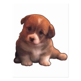 Sojabohnenöl-UNO cachorrito Postkarte
