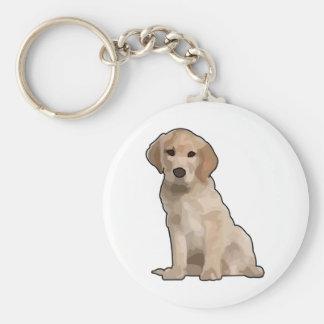 Sojabohnenöl-UNO cachorrito Standard Runder Schlüsselanhänger