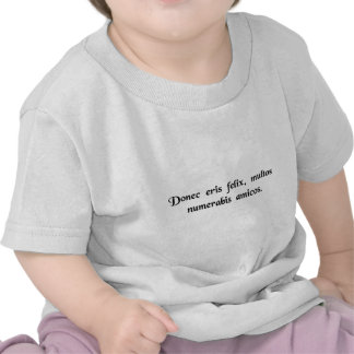 Solange Sie glücklich sind haben Sie Hemden