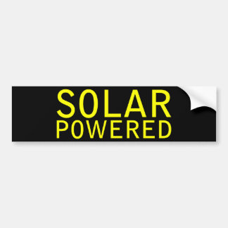 Solar angetrieben autoaufkleber