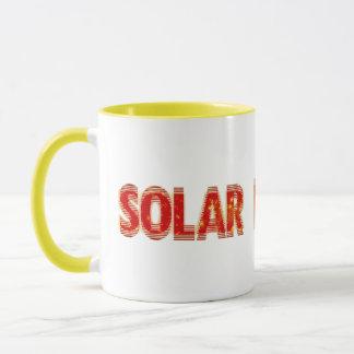 Solar angetrieben tasse