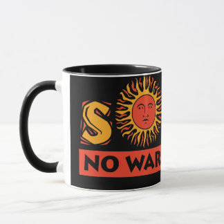 Solar - kein Krieg erfordert Tasse