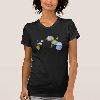 Solarbloßer Wissenschafts-T - Shirt der