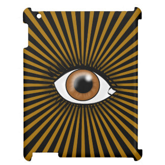 Solarbrown-Auge Hüllen Für iPad