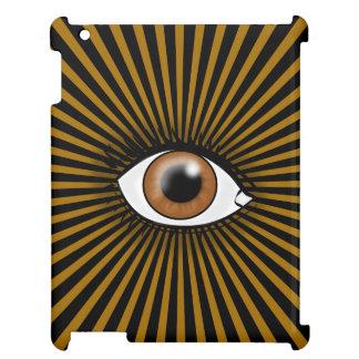 Solarbrown-Auge iPad Hülle