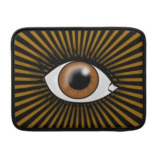 Solarbrown-Auge Sleeve Fürs MacBook Air