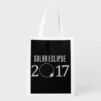Solareklipse-Lebensmittelgeschäft-Tasche 2017 Wiederverwendbare Einkaufstasche