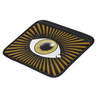Solarhaselnußauge iPad Sleeve