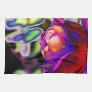 Solarized Rose durch Shirley Taylor Küchentuch