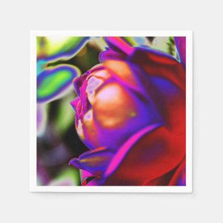 Solarized Rose durch Shirley Taylor Papierservietten