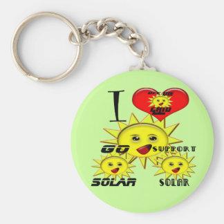 SolarPower-Geschenke und fördernder Produkt-T - Sh Schlüsselbänder