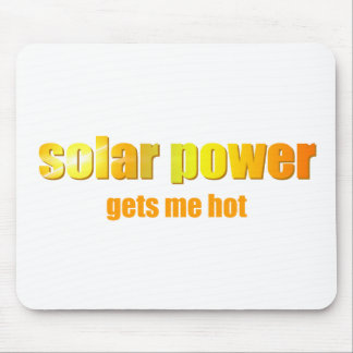 SolarPower heiß! Mousepad