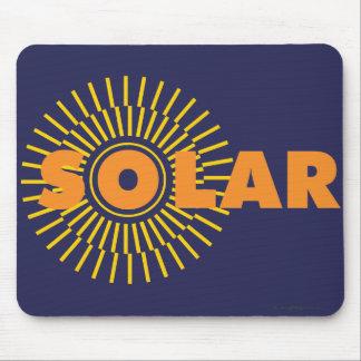 SolarPower Sun Mousepads