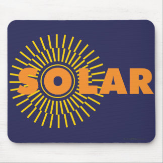 SolarPower Sun Mousepad