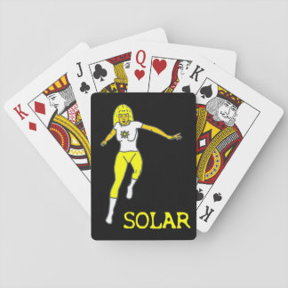 Solarspielkarten Spielkarten