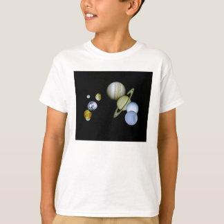 Solarsystem scherzt T - T-Shirt