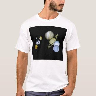 Solarsystems-Damen zerstörten Astronomie-T - Shirt