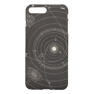 Solarsystems-Kometen-Stern-Vintage himmlische Bahn iPhone 7 Plus Hülle