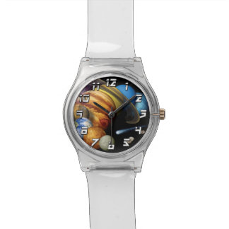 Solarsystems-Planetenmontage-Raum-Fotos der NASAs Armbanduhr