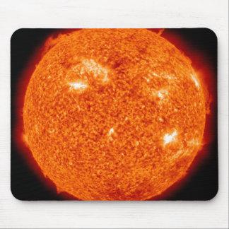 Solartätigkeit auf dem Sun 3 Mousepad