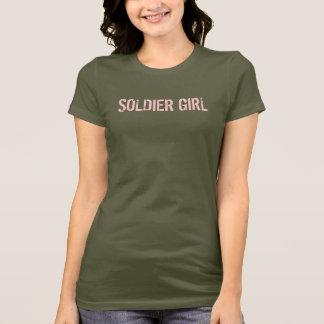 SOLDAT-MÄDCHEN-CAMOUFLAGE-SHIRT T-Shirt