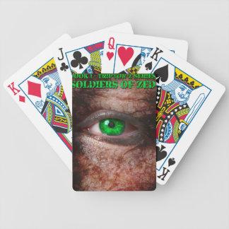 Soldaten der ZED Abdeckungs-1. Ausgabe Bicycle Spielkarten