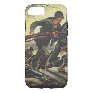 Soldaten des Weltkrieg-2 iPhone 8/7 Hülle