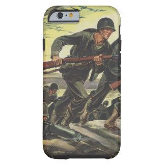 Soldaten des Weltkrieg-2 Tough iPhone 6 Hülle