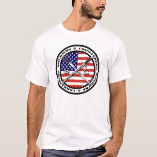 Soldaten u. Kommandanten Logo T-Shirt