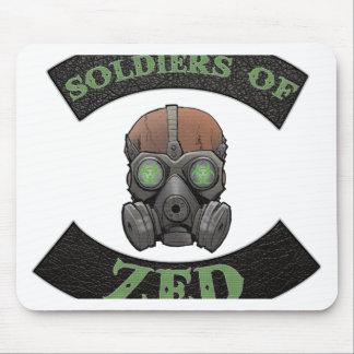 Soldaten von ZED Logo Mousepad