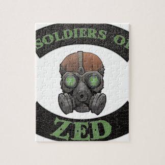 Soldaten von ZED Logo Puzzle