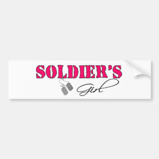 SoldiersGirl Autoaufkleber