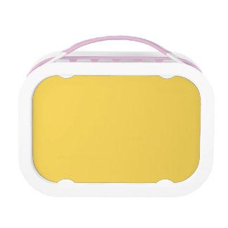 Soleil Gelb-Zitrusfrucht Zitrone-Französische Brotdose