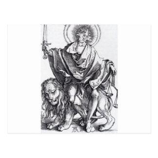Solenoid Justitiae durch Albrecht Durer Postkarte