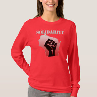 Solidarität Wisconsin T-Shirt